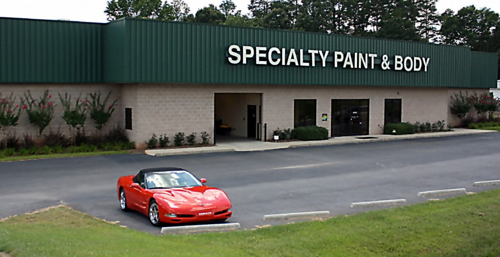 the shop specialty paint body